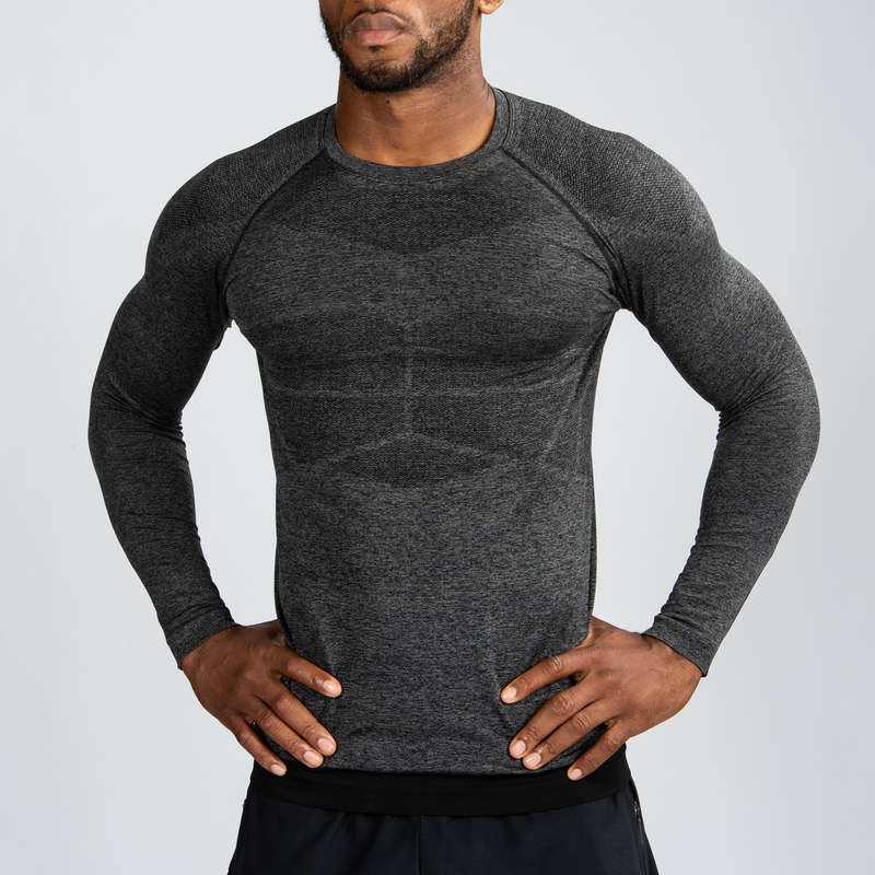 GLOVES, BELTS, APPAREL - Long-Sleeved Compression T-S DOMYOS