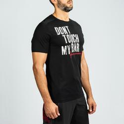 T-Shirt Crosstraining Herren schwarz