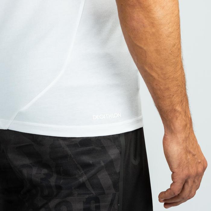 Shirt crosstraining voor heren, wit