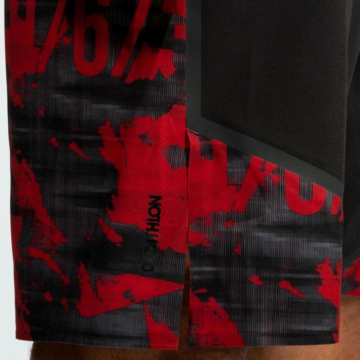 SHORT CROSSTRAINING 900 HOMBRE Negro/Rojo