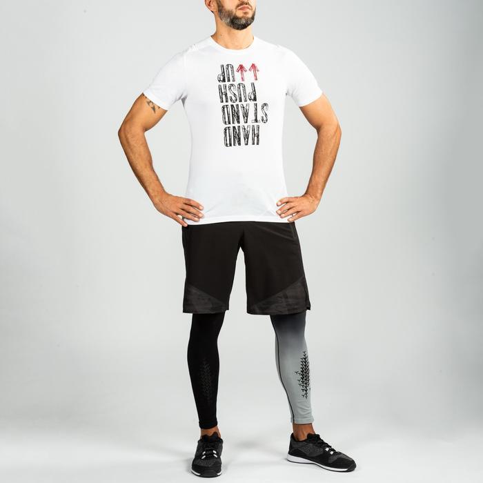 crosstraining T-shirt voor heren wit