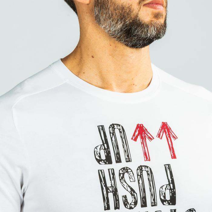 T-Shirt Crosstraining Herren weiß