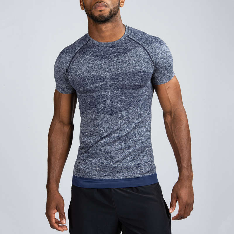 GLOVES, BELTS, APPAREL - Compression T-Shirt DOMYOS