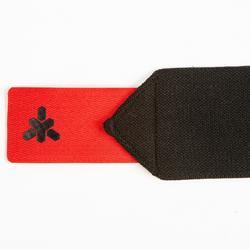 Handgelenkbandage Krafttraining Klettverschluss rot