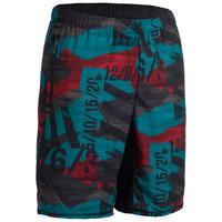 500 Cross Training Shorts - Red/Blue