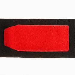 Handgelenk-Stützbandagen Krafttraining Klettverschluss rot