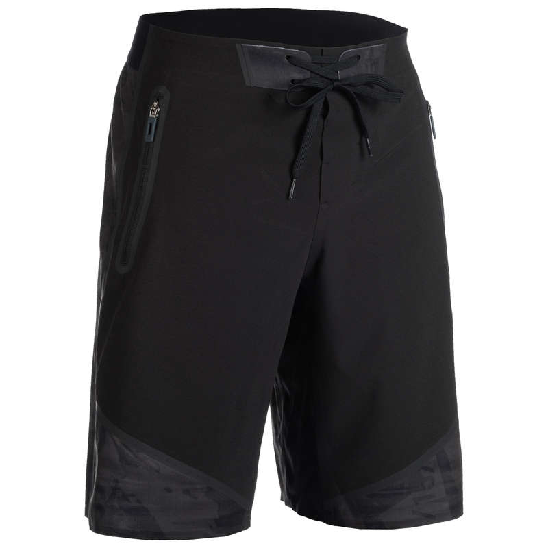 CROSS-TRAINING APPAREL Fitness and Gym - 900 Shorts - Grey/Black DOMYOS - Fitness and Gym