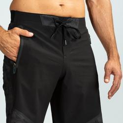 Pantalón Corto Chándal Cross training Domyos Hombre Negro 900
