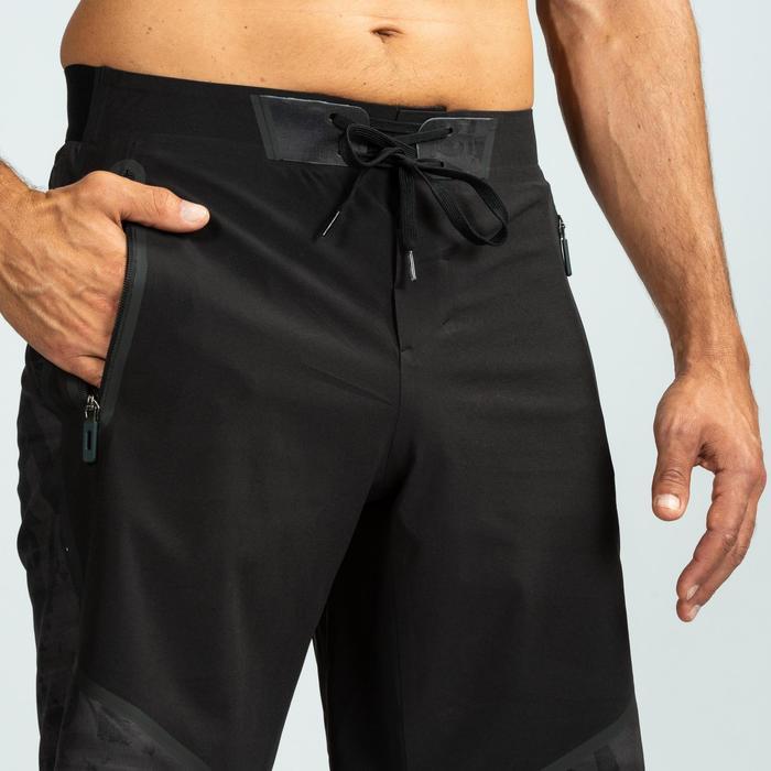 Shorts 900 Crosstraining Herren schwarz/grau