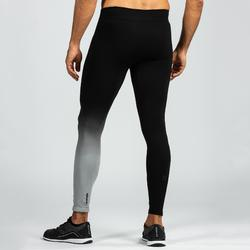 Tights 900 Crosstraining Seamless Herren schwarz/grau