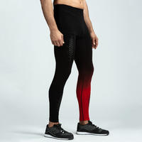 900 Cross Training Seamless Leggings - Black/Red