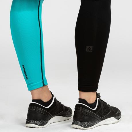 a21db5ef56 900 Women's Cross Training Seamless Leggings - Blue/Black. Previous. Next