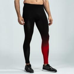 LEGGINGS CROSSTRAINING HOMME NOIR/ROUGE