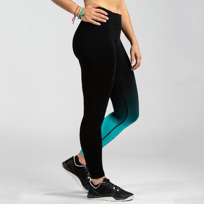 900 Women's Cross Training Seamless Leggings - Blue/Black