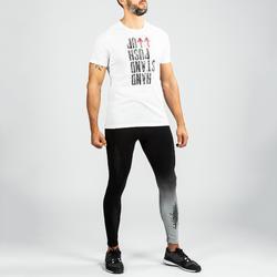 Legging 900 homme noir et gris pour entrainement croisé