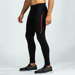 Mallas Leggings Deportivos Cross Training Domyos Hombre Negro 500
