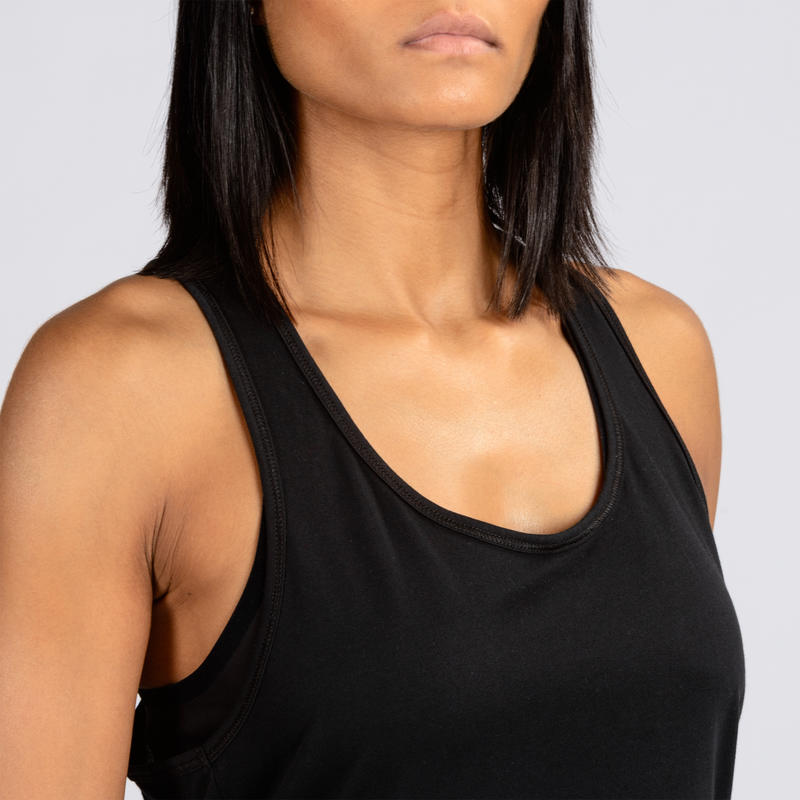 Women's Cross-Training Gym Tank Top - Black
