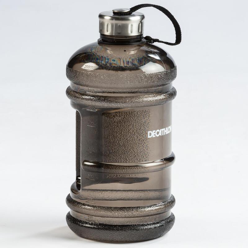 Gallon Water Bottle - Black