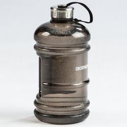 Botella BIDÓN GALLON musculación Domyos negro 2.2L