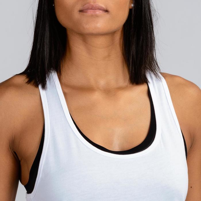 Débardeur Crosstraining Femme Blanc