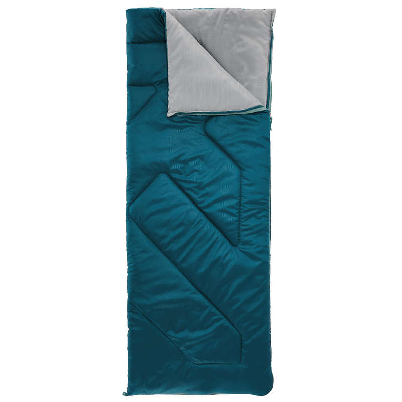 BASE CAMP SLEEPING BAGS Camping - SLEEPING BAG ARPENAZ 10°C - BLUE QUECHUA - Sleeping Equipment