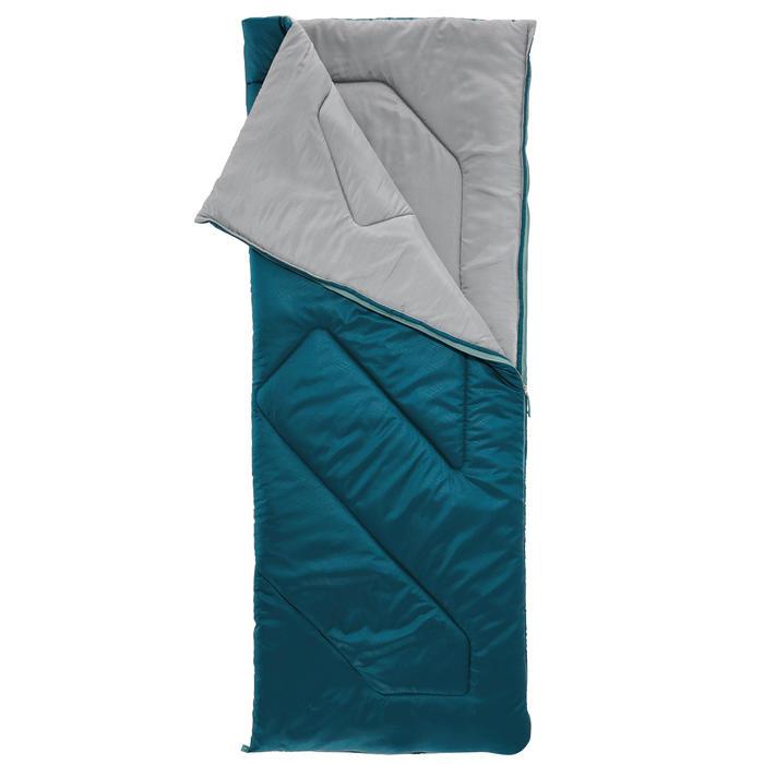 Saco Dormir Camping Quechua 10º Adulto Azul