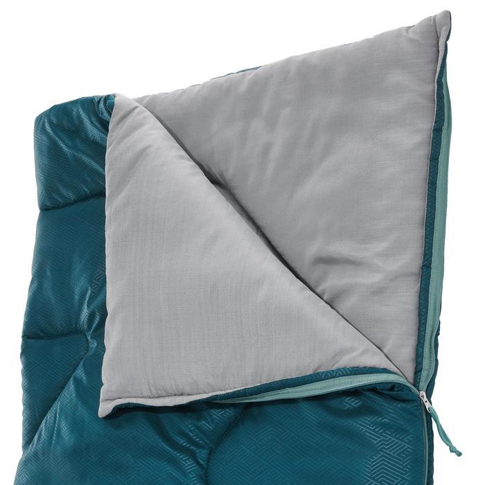 Kampeerslaapzak Arpenaz 10°C blauw