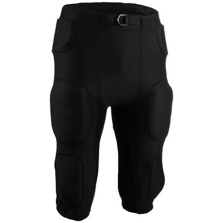 Pantalón de fútbol americano AF550PA para adultos negro