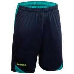 Short de handball homme H500 bleu