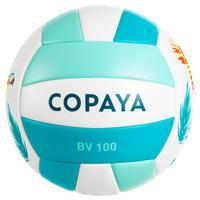 Ballon de volleyball de plage BV100 ara bleu