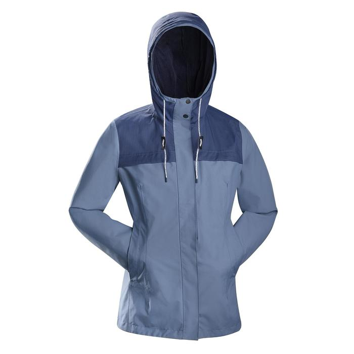 3-in-1-Jacke Travel 100 Damen blau