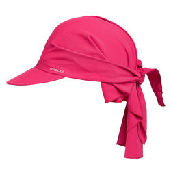 Gorra de Trekking Montaña TREK 100 ultra-compacta rosa