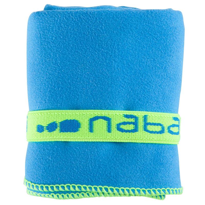Small Compact Microfibre Towel - Blue