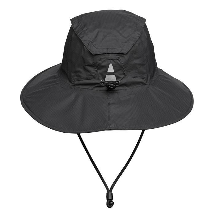 Mountain Trekking Waterproof Hat Trek 900 - Black