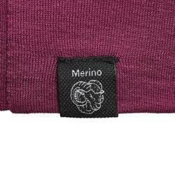 Merino Strickmütze Beanie Trek 500 violett