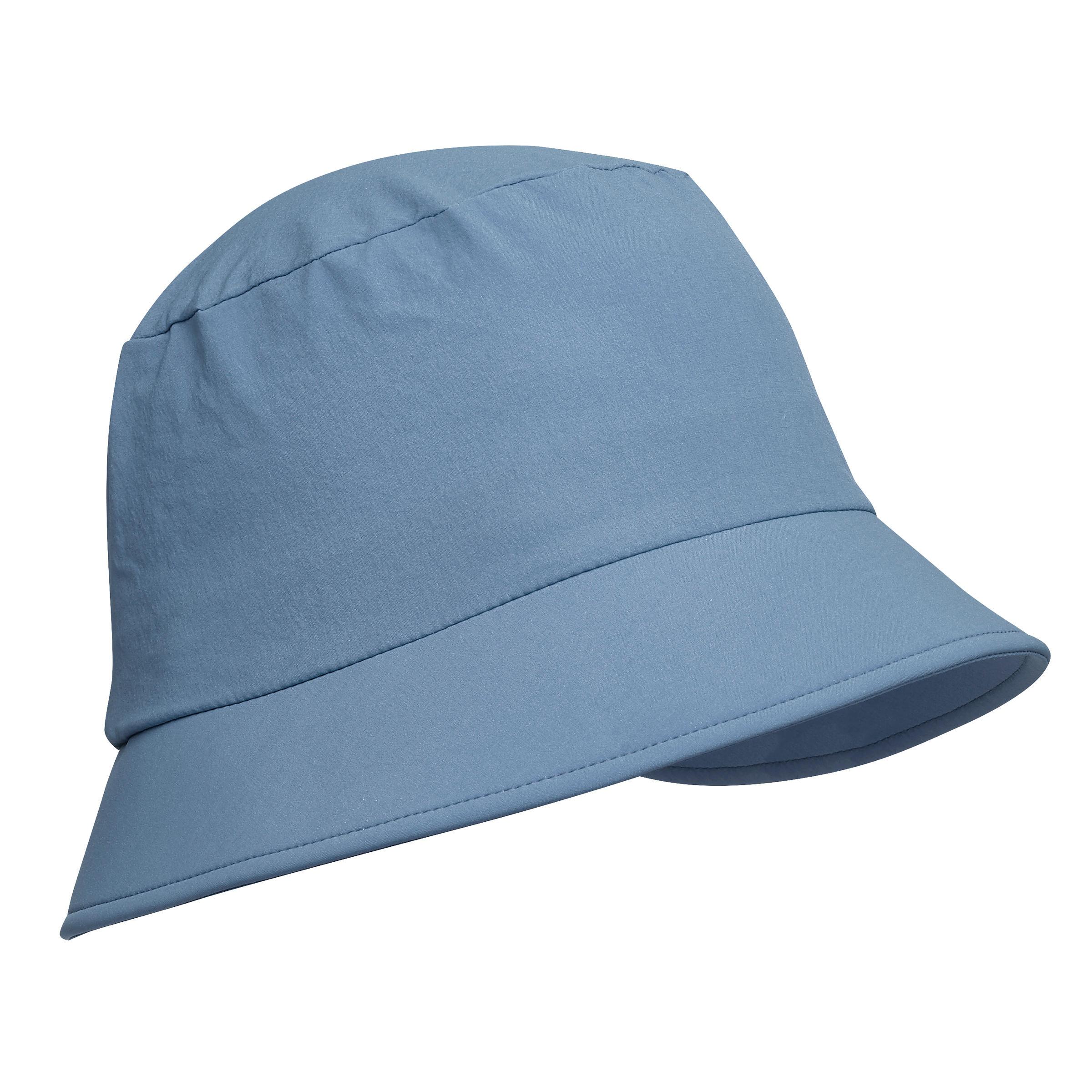 Chapeau de trekking montagne trek 100 bleu forclaz