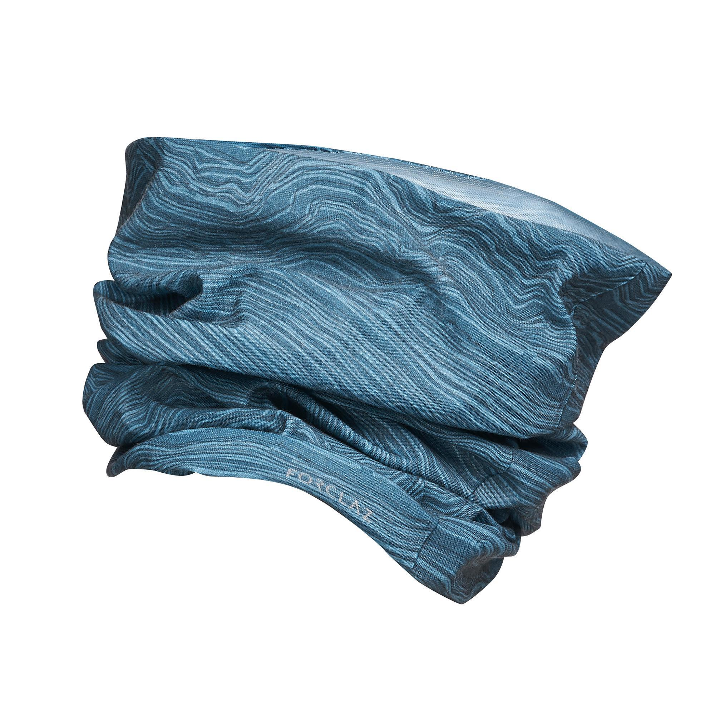 Multifunktionstuch Trek 100 blau | Accessoires > Schals & Tücher > Tücher | Blau | Jersey | Forclaz
