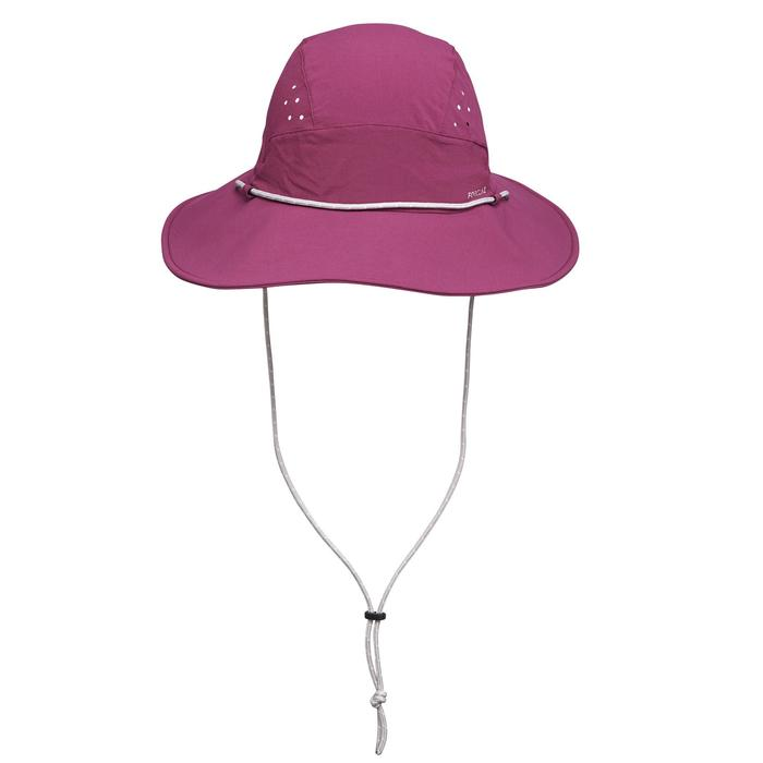 Trekkinghut Trek 500 UV-Schutz Damen violett