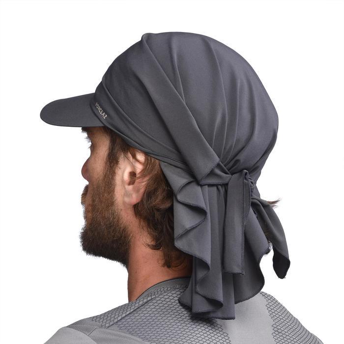 Schirmmütze Trekking 100 ultrakompakt dunkelgrau