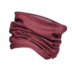 Veelzijdige hoofdband voor bergtrekking Trek 100 paars