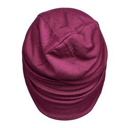 Bonnet de Trekking Montagne TREK 500 laine merinos violet