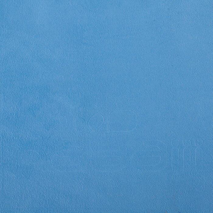 Toalla de microfibra azul ultracompacta talla S 42 x 55 cm