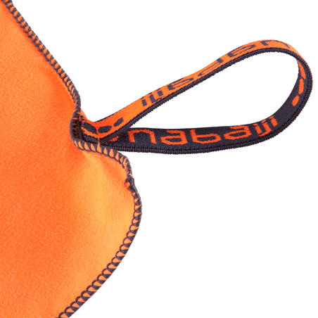 Microfibre towel size S 42 x 55 cm - Orange
