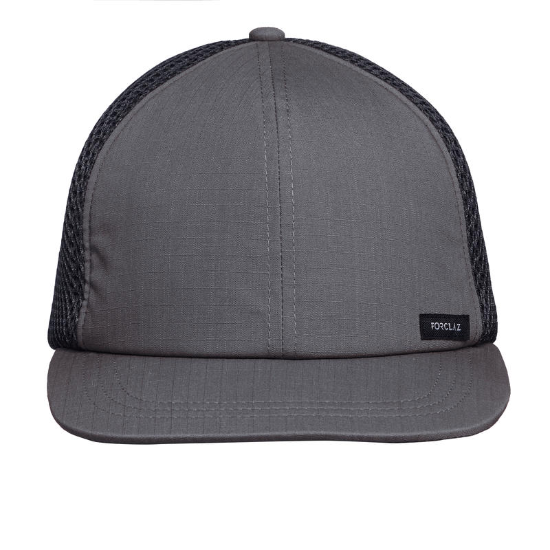 Gorra de Trekking viaje TRAVEL 500 A gris oscuro