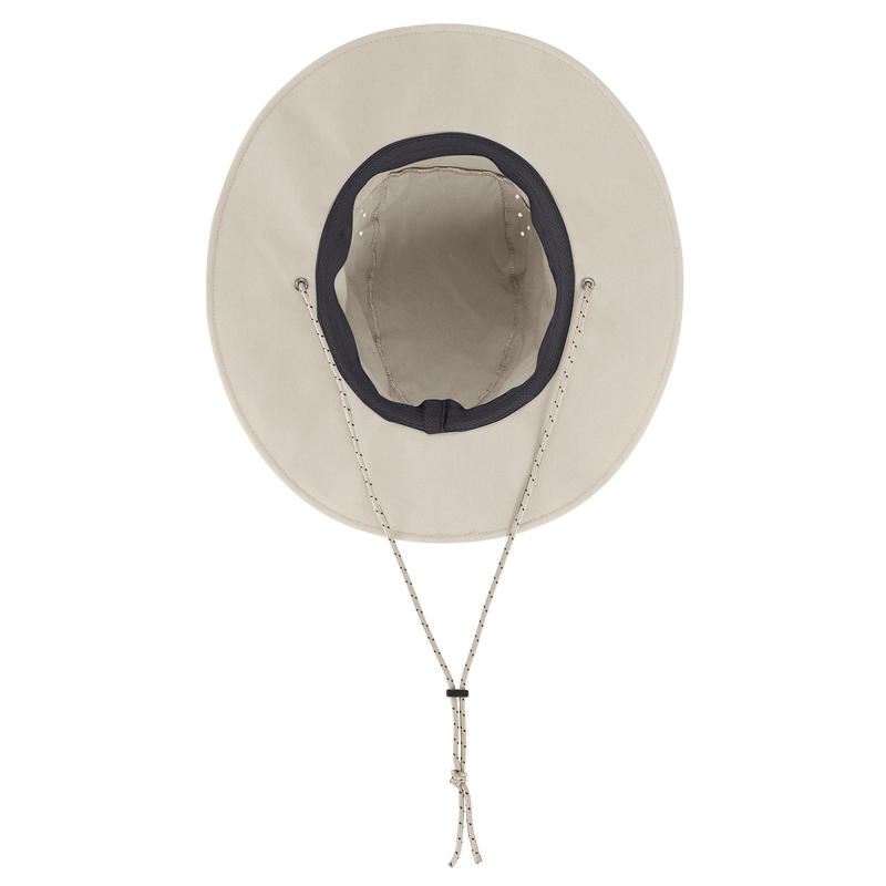 Sombrero de Trekking en montaña TREK 500 Hombre anti-UV beige