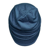 Chapeau de randonnée de montagne laine mérinos - RANDO 500 bleu