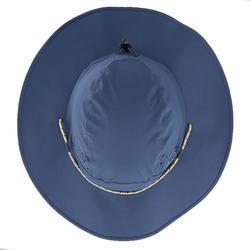 Sombrero de Trekking montaña TREK 500 Hombre anti-UV azul
