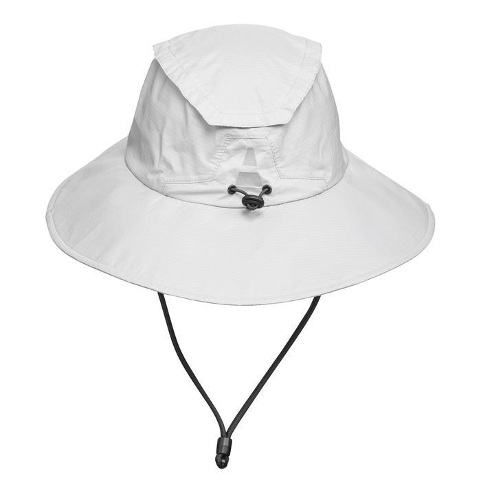 Trek 900 Mountain Trekking Waterproof Hat - Light Grey