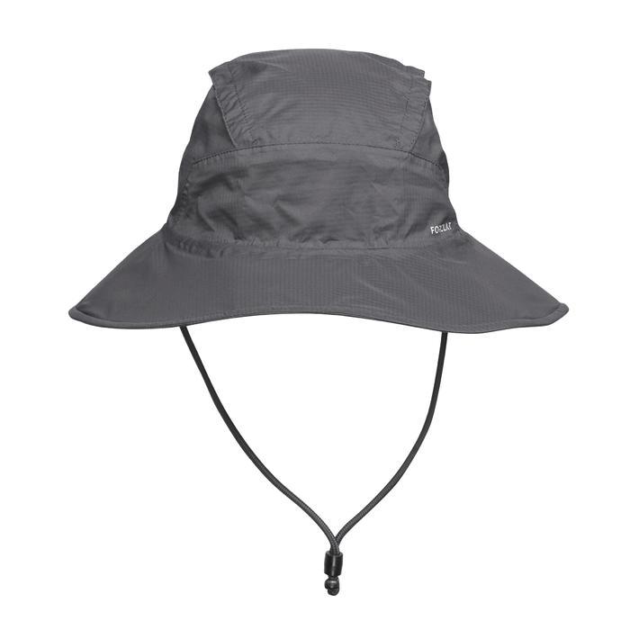 Chapeau de Trekking montagne TREK 900 imperméable gris foncé
