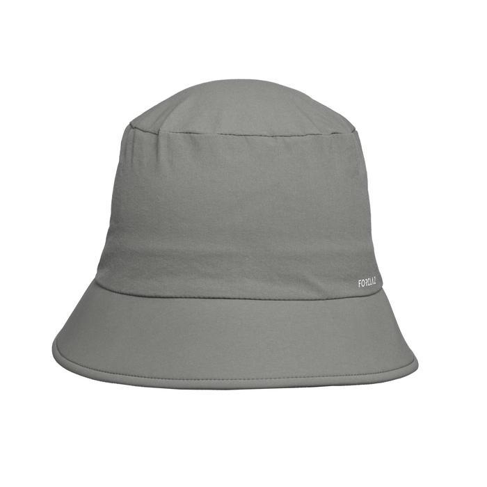 男款登山健行帽TREK 100-卡其色